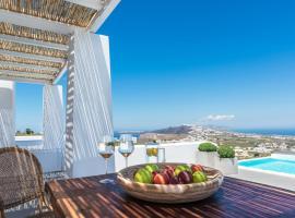 White & Co. Exclusive Island Villas, hotel near Santorini Port, Pyrgos