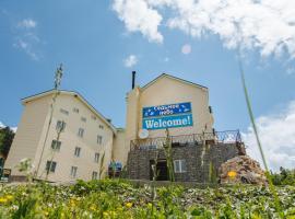 Inn Sedmoe nebo, pet-friendly hotel in Plato Lagonaki