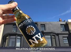 Mojitos Group Weekends Blackpool, hotel near Sandcastle Waterpark, Blackpool