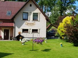 Holiday Home Ermine, hotel near Ramkalni Ski Lift, Sigulda