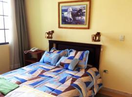 Dos Hemisferios, hotel perto de Metade do Mundo, Quito
