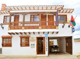Hotel - Hospederia Villa Palva, hotel in Villa de Leyva