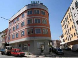 Hotel Ramos, hotel in Silleda