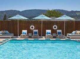 Calistoga Motor Lodge and Spa, hotel in Calistoga