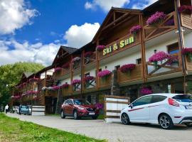 Apartments Ski & Sun, hotel v destinaci Liptovský Mikuláš