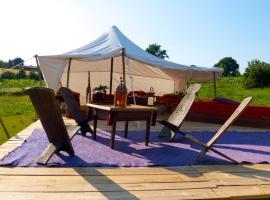 Tamana Tuquet Tentes Mauritannienne, luxury tent in Bergerac