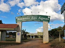 Pousada Recanto das Águas, pet-friendly hotel in Carmo do Rio Claro