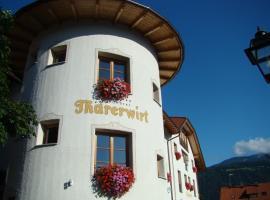 Landhotel Tharerwirt, отель в Вальдаоре