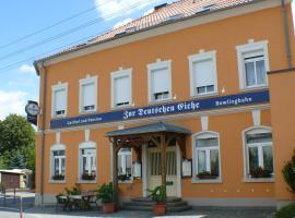 Zur deutschen Eiche, Hotel in Großschönau
