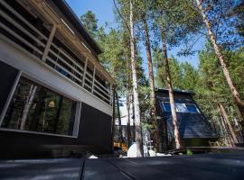 Hostel Black Point, hotel with jacuzzis in Terskol