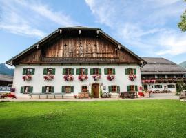 Weinbachbauer - Urlaub am Bauernhof, farm stay in St. Wolfgang