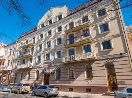 Stanislaviv, hotel v destinaci Ivano-Frankivsk