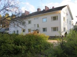 Merilänhovin huoneistohotelli, hotelli Lieksassa