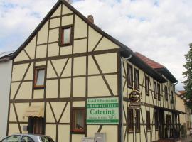 Hotel und Restaurant Hohenzollern, отель в Эрфурте