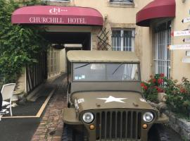 Churchill Hotel Bayeux Centre, hotel in Bayeux