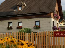 Apartment Köll, Hotel in der Nähe von: Laerchberglift, Aich