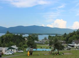 Hill View Motel and Cottages, resort in Lake George