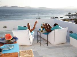 Mykonos Moussa, pet-friendly hotel in Agios Ioannis Mykonos