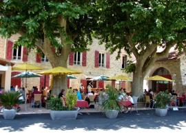 Auberge de Bonpas Logis de France, hotel in Montfavet