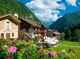 Albergo Montagna Di Luce, hotell i Alagna Valsesia