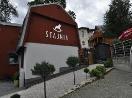 Stajnia, hotel near Kamienczyka Waterfall, Szklarska Poręba