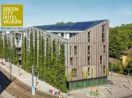 Green City Hotel Vauban, Hotel in Freiburg im Breisgau