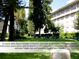 Casa Religiosa Di Ospitalità Nazareno, affittacamere a Spoleto
