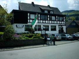 Gasthof Haus Hubertus, hotel in Winterberg