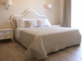 Le camere di Villa Incanto, hotel Colonnellában