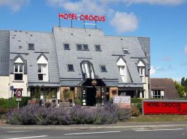 Hôtel Crocus Caen Mémorial, hotel in Caen