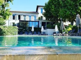 Les Lodges Sainte-Victoire Hotel & Spa、エクス・アン・プロヴァンスのホテル