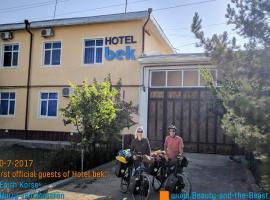 Hotel Bek, hotel en Shahrisabz