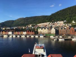 Apartment with Beautiful View to Bryggen, hotel near Floibanen, Bergen