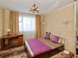 Apartment metro Bratislavskaya, hotel in Moscow