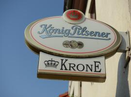 Landgasthof & Hotel KRONE Eischleben, hotel i Ichtershausen