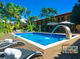 Pousada Praia do Jabaquara, hotel in Paraty
