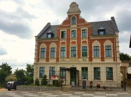 Hotel Burghof Görlitz, отель в Гёрлице
