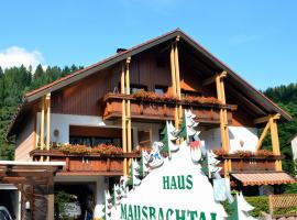 Pension Mausbachtal, hotel near Hempelsberglift, Warmensteinach