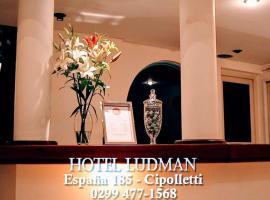 Hotel Ludman, hotel near Presidente Perón International Airport - NQN, Cipolletti