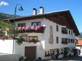 Ferienhaus Olympia, pet-friendly hotel in Lermoos