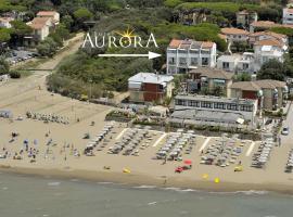 Hotel Aurora, отель в Сан-Винченцо