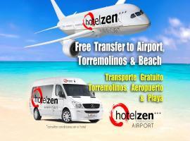 Hotel Zen Airport, hotell nära Málaga flygplats - AGP, Torremolinos