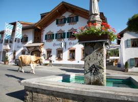 Hotel Schatten, hotel near Garmisch-Partenkirchen City Hall, Garmisch-Partenkirchen