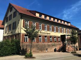 Klosterpost, Hotel in der Nähe von: Hauptbahnhof Pforzheim, Maulbronn