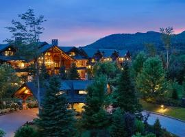 The Whiteface Lodge, beach hotel in Lake Placid