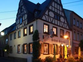 Hotel zur Schloß-Schenke, hotel near Cable Car Koblenz, Neuwied