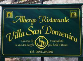 Villa San Domenico, hotel Morano Calabróban