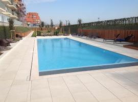Appartement Villa Moya, hotel with pools in Nieuwpoort