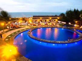 Long Beach, hotel near Fishermen Square, Canoa Quebrada