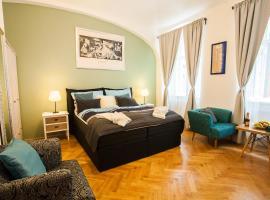 Prague EIA Centre Apartments: Prag'da bir pansiyon